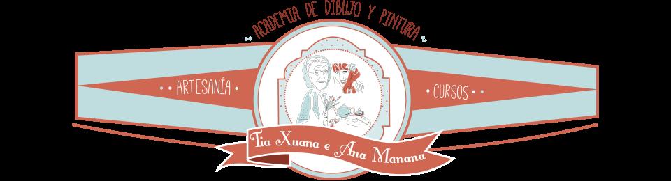 Academia de dibujo y pintura en Pontevedra Tía Xuana e Ana Manana